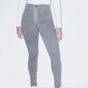 NWOT American Apparel Gray Denim The Easy Jean